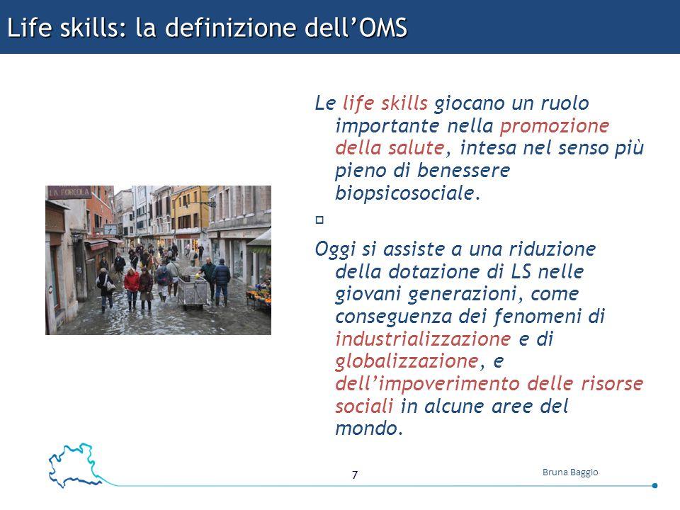 Life skills: la definizione dell'OMS