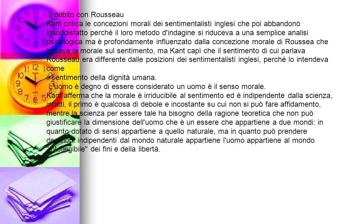 Il debito con Rousseau