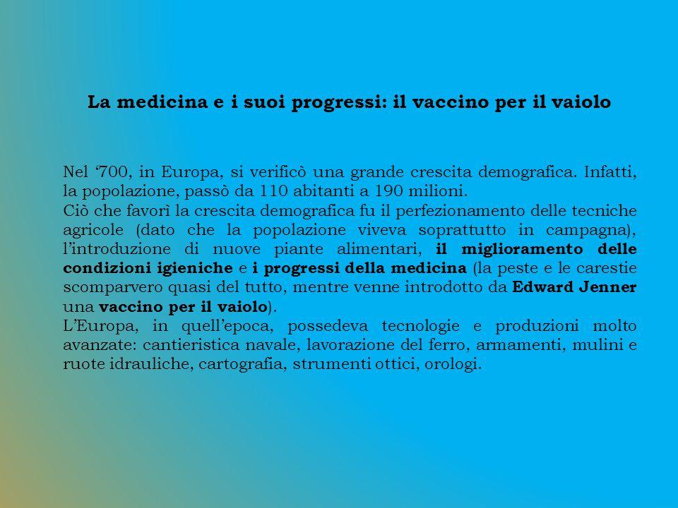La medicina e i suoi progressi: il vaccino per il vaiolo