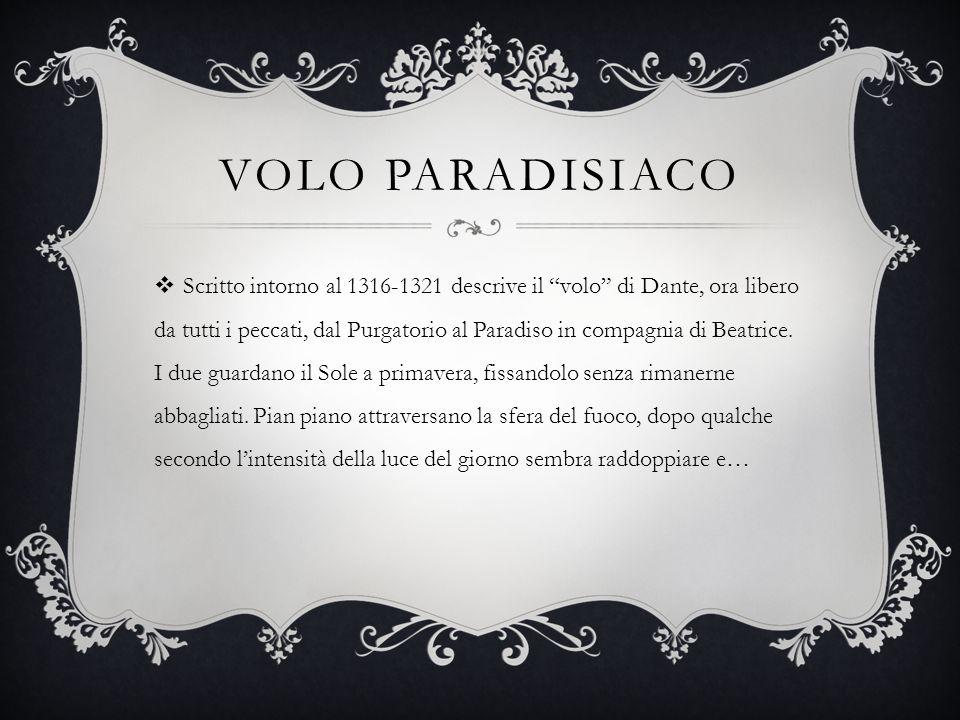 Volo paradisiaco