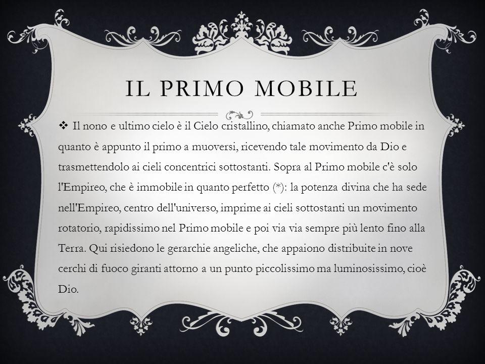 Il primo mobile