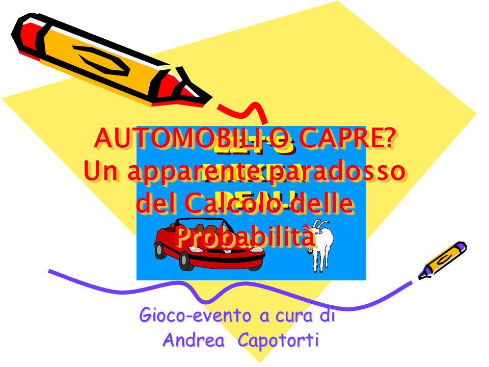Gioco-evento a cura di Andrea Capotorti