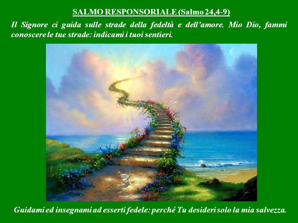 SALMO RESPONSORIALE (Salmo 24,4-9)