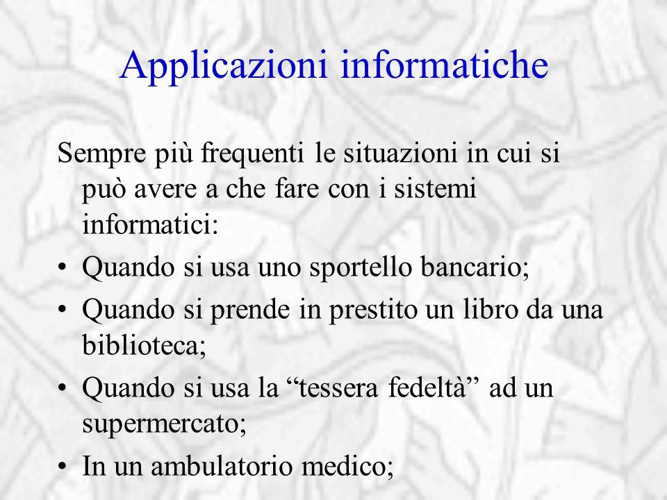 Applicazioni informatiche
