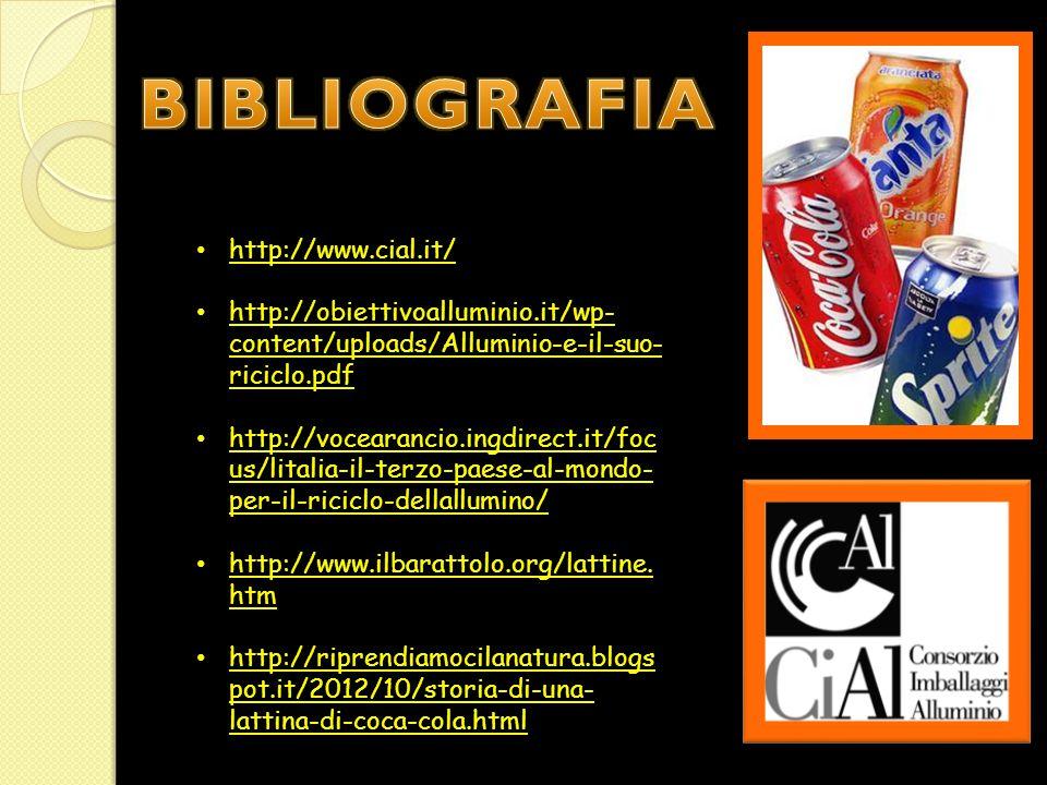 BIBLIOGRAFIA http://www.cial.it/