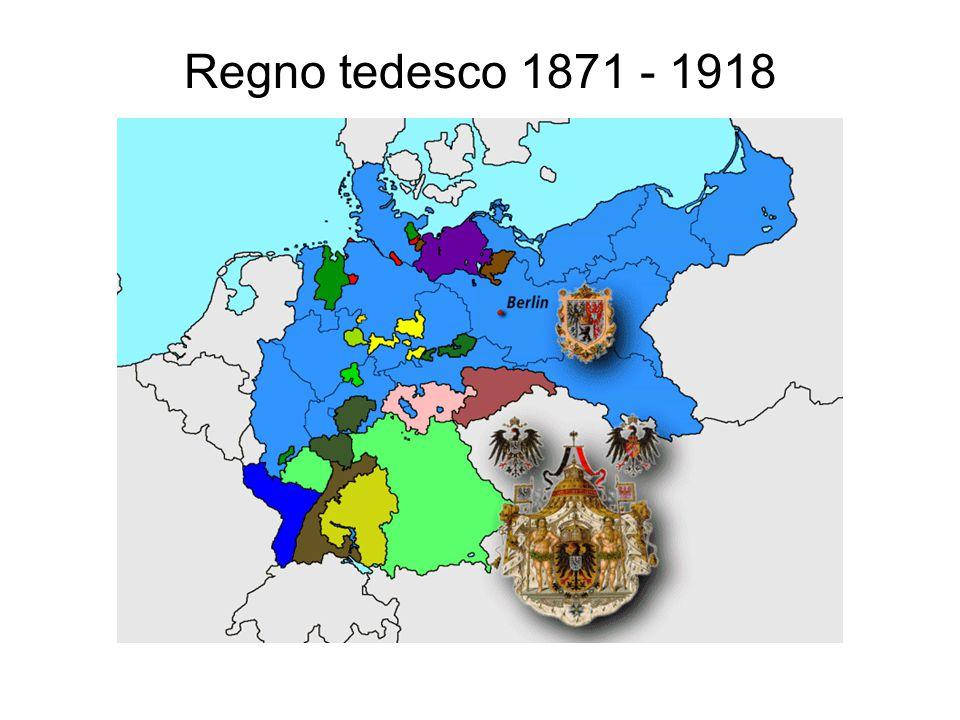 Regno tedesco 1871 - 1918