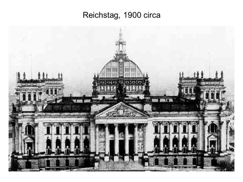 Reichstag, 1900 circa