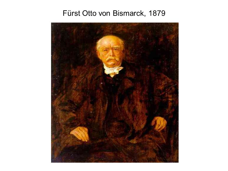 Fürst Otto von Bismarck, 1879