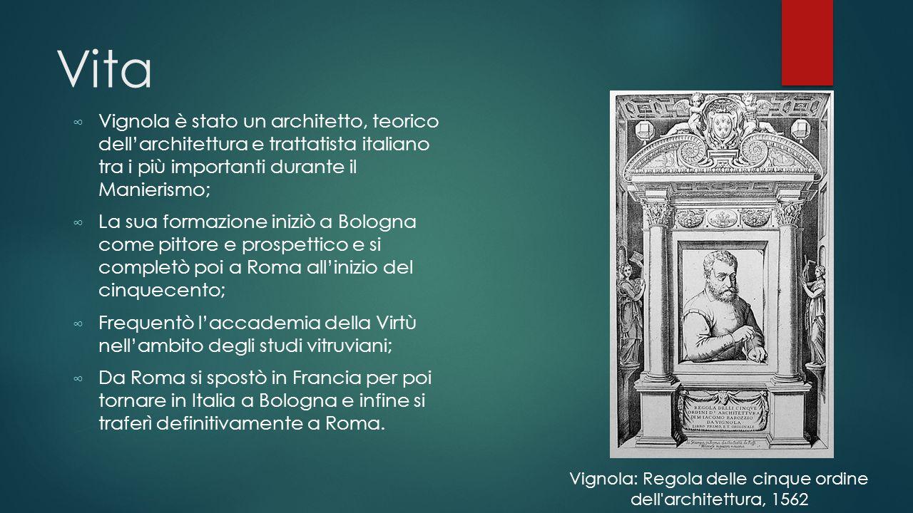 Vignola: Regola delle cinque ordine dell architettura, 1562