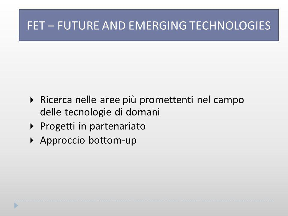 FET – FUTURE AND EME TECHNOLOGIES