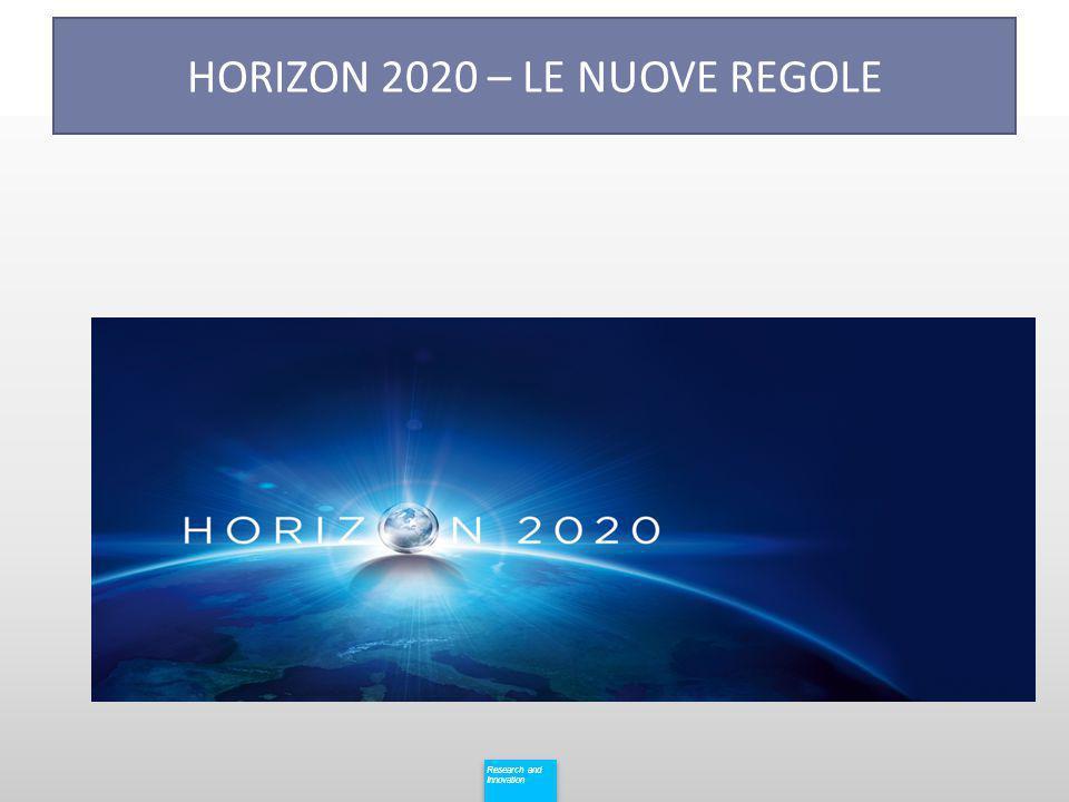 HORIZON 2020 – LE NUOVE REGOLE