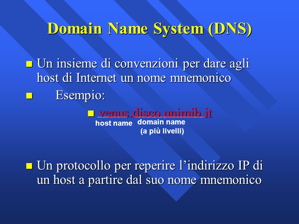 domain name system and host save Understanding dns (the domain name system) a host name server contains information about your computer and supplies ip addresses that are associated with it mail exchange (mx) record mx records specify the mail server address for the domain name.