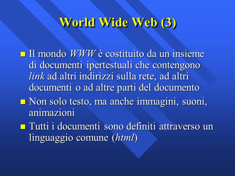 World Wide Web (3)
