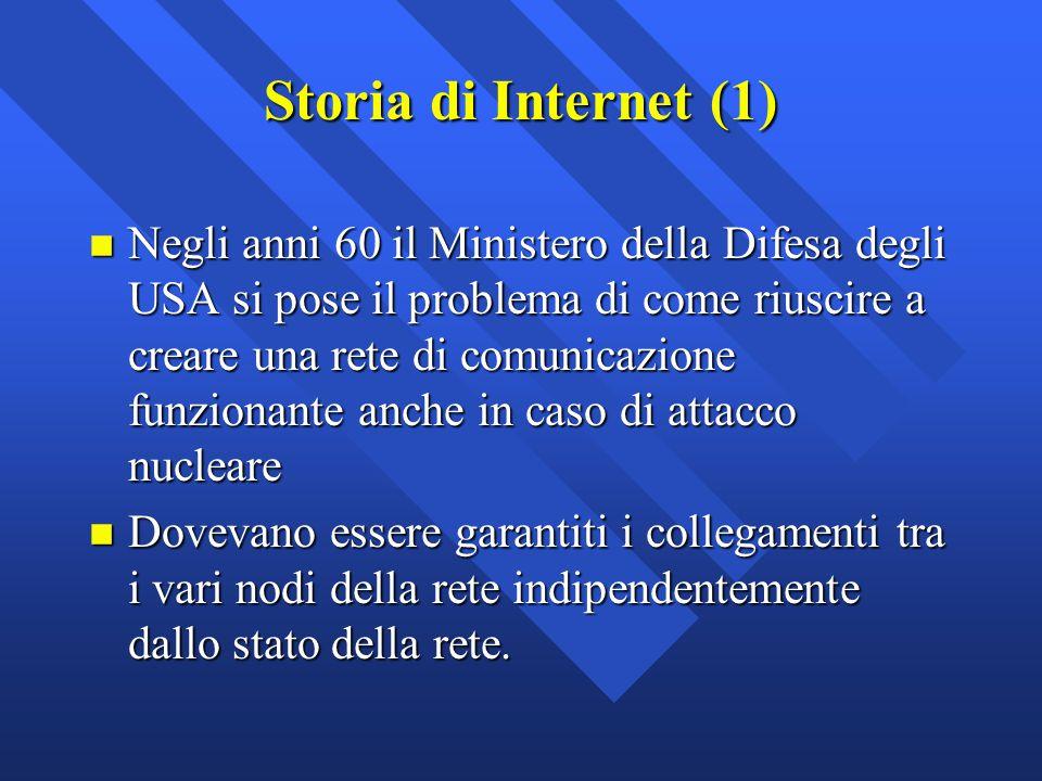 Storia di Internet (1)