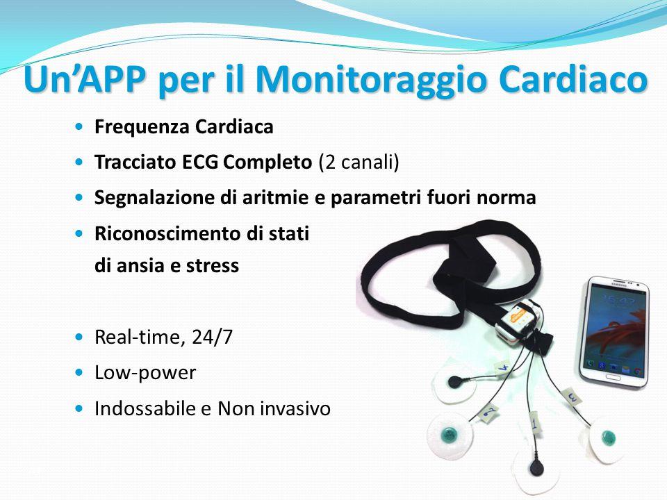 Un'APP per il Monitoraggio Cardiaco
