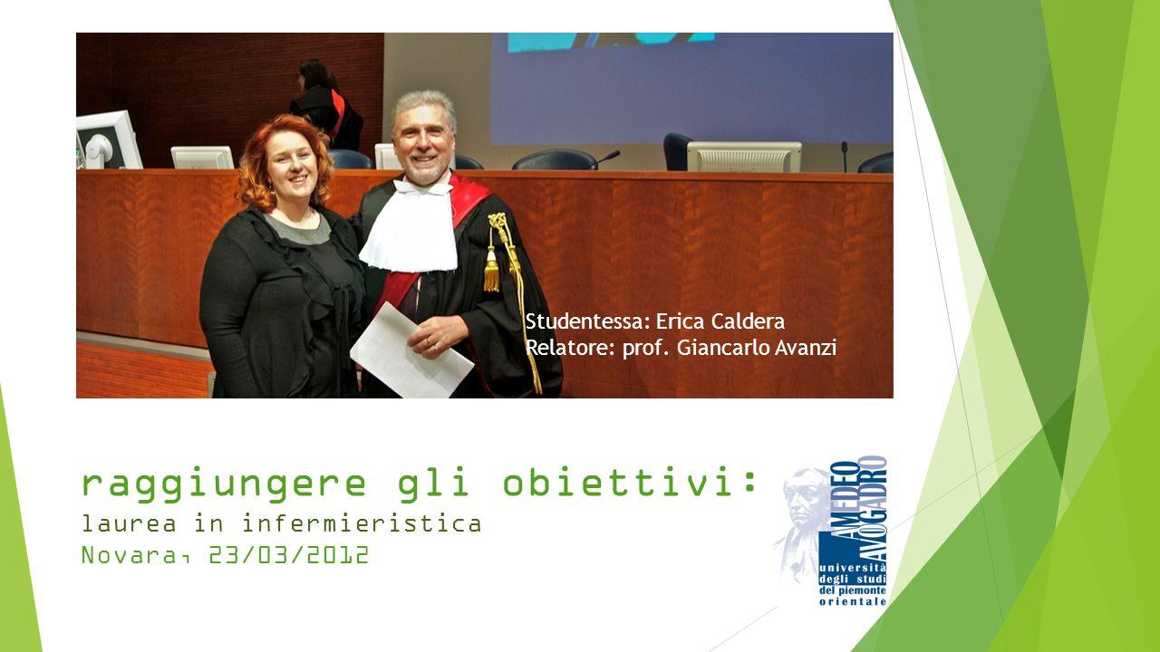 Studentessa: Erica Caldera