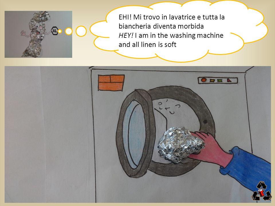 EHI! Mi trovo in lavatrice e tutta la biancheria diventa morbida