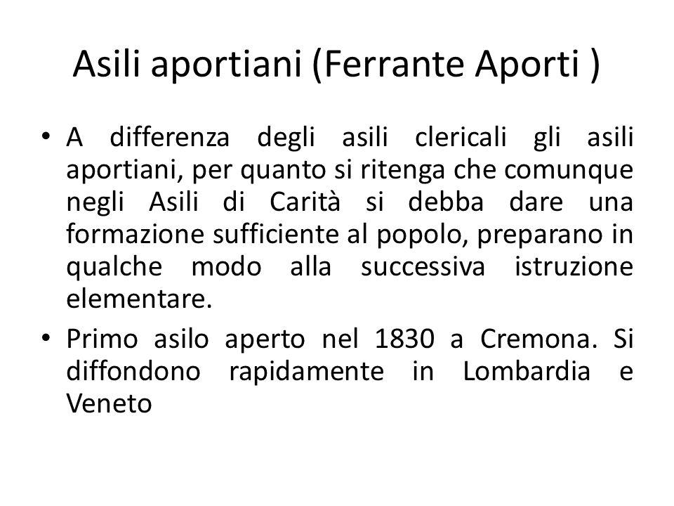 Asili aportiani (Ferrante Aporti )