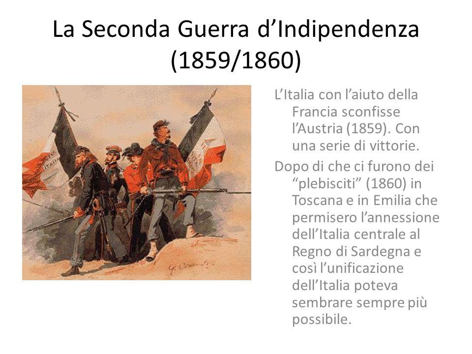 La Seconda Guerra d'Indipendenza (1859/1860)