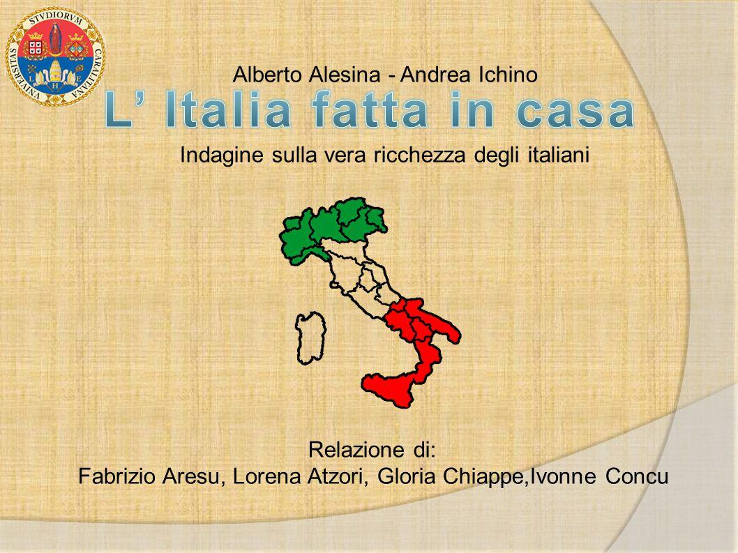 L' Italia fatta in casa Alberto Alesina - Andrea Ichino