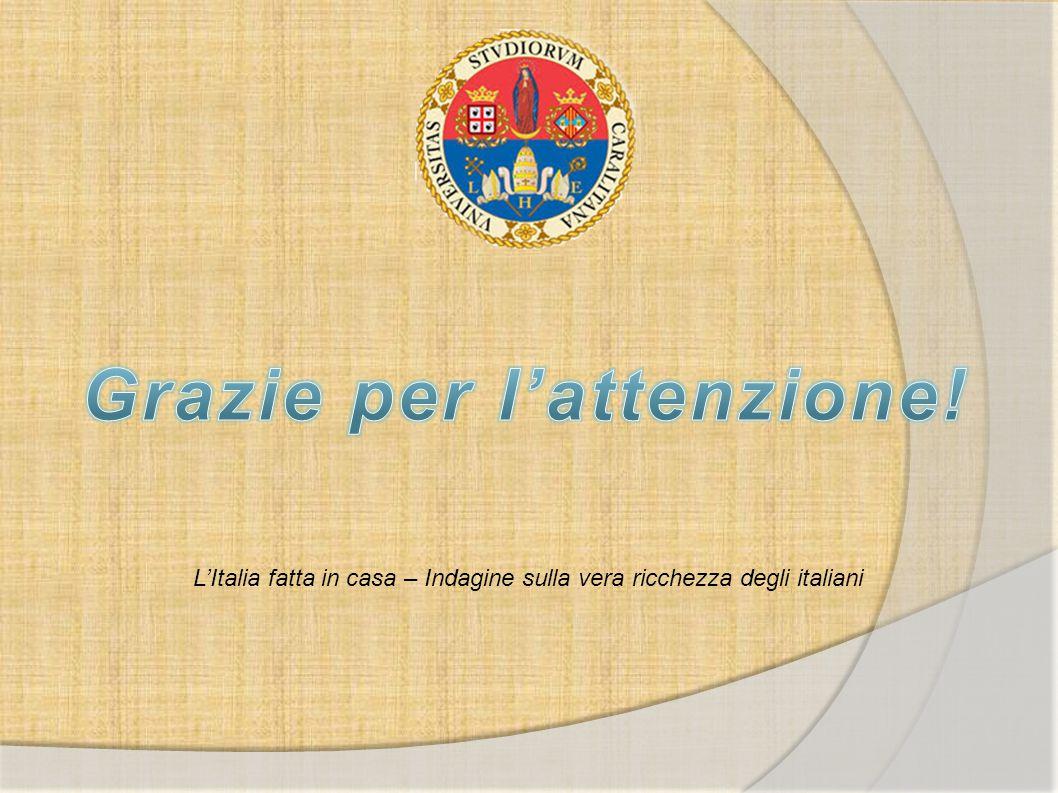 L'Italia fatta in casa – Indagine sulla vera ricchezza degli italiani