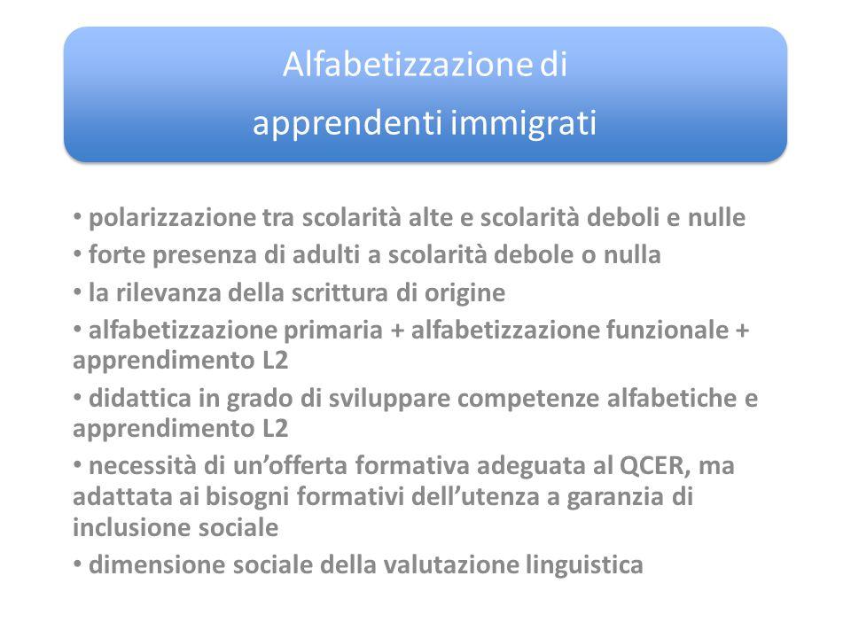 apprendenti immigrati