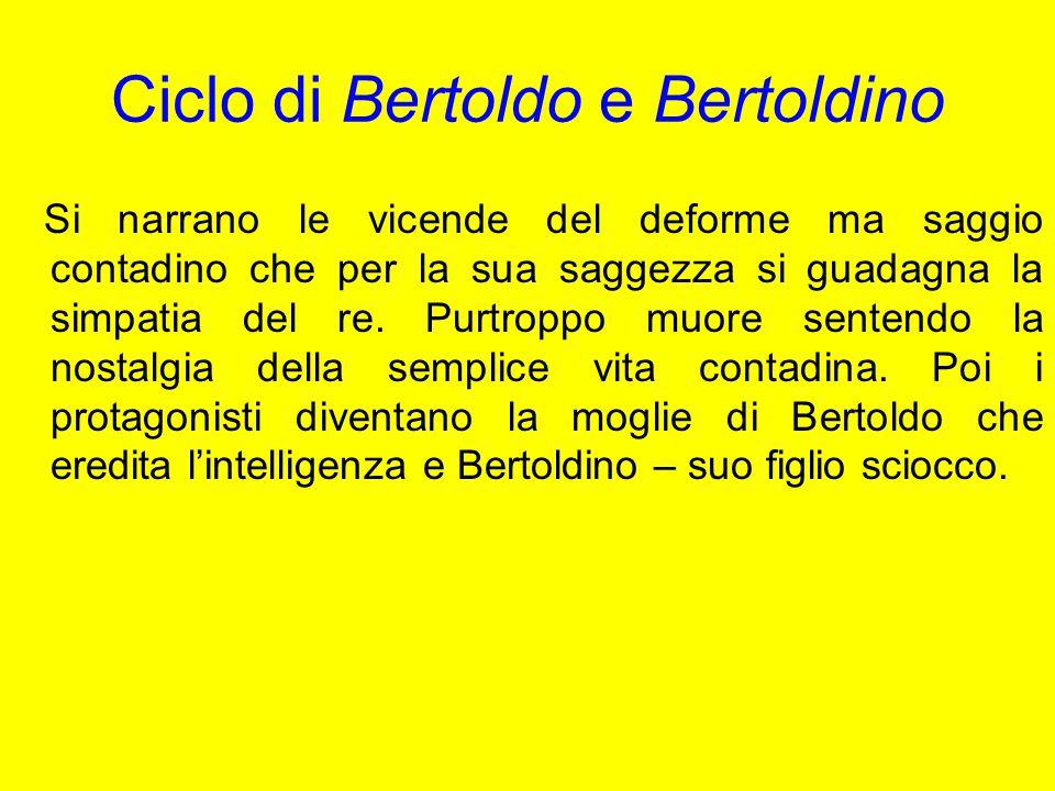 Ciclo di Bertoldo e Bertoldino