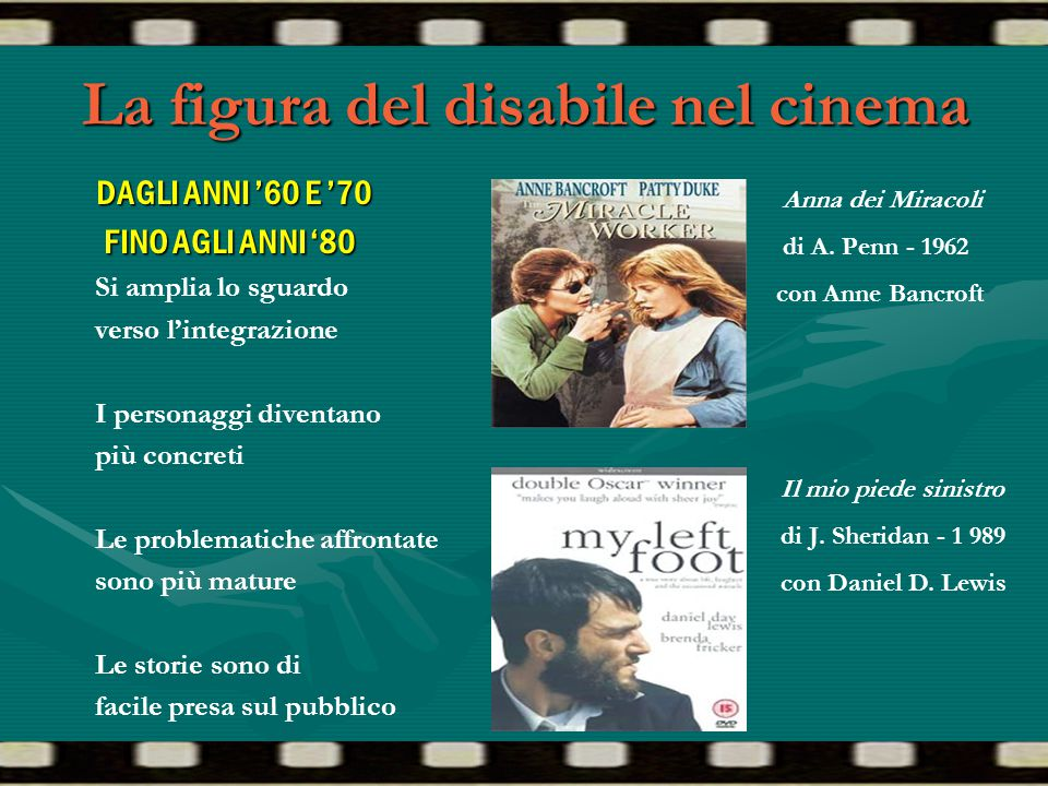 La figura del disabile nel cinema