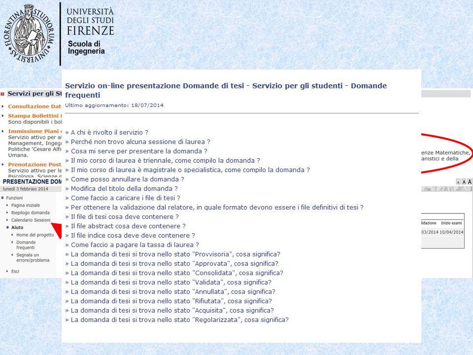Nella pagina Servizi on-line dell'ateneo: http://sol.unifi.it/