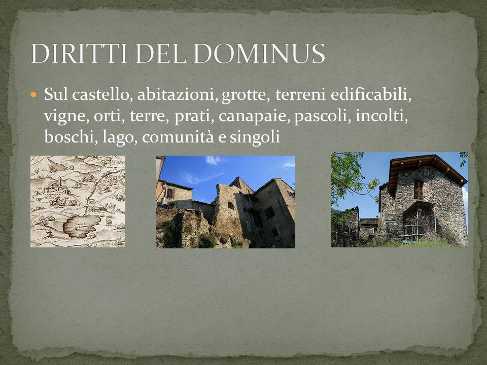 DIRITTI DEL DOMINUS