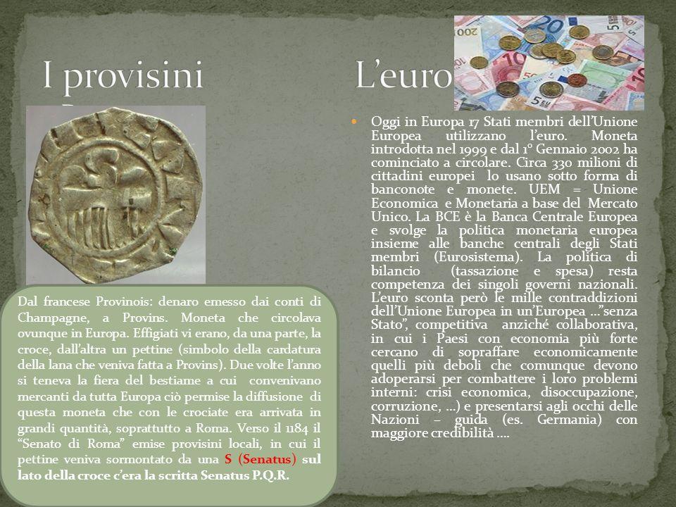 I provisini L'euro D.