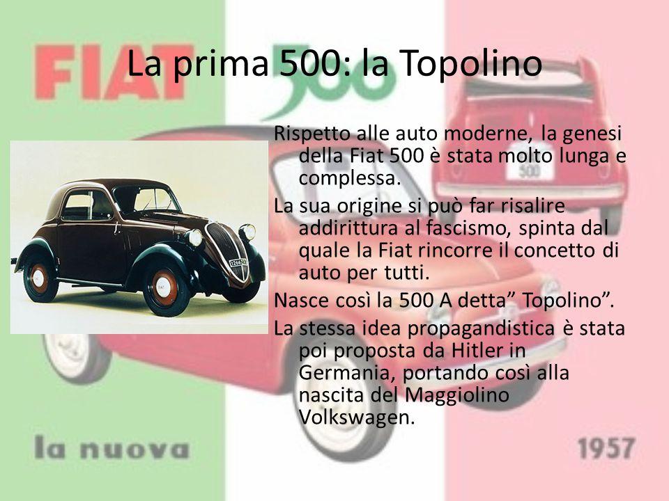 La prima 500: la Topolino