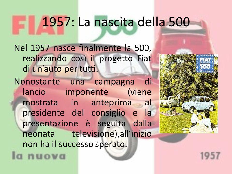 1957: La nascita della 500