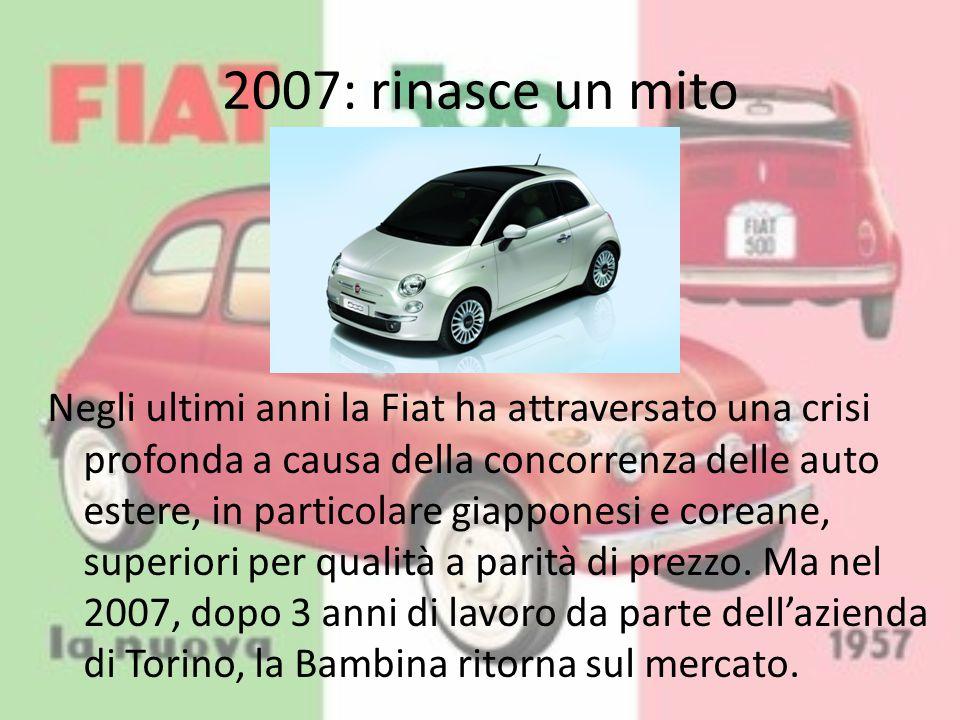 2007: rinasce un mito