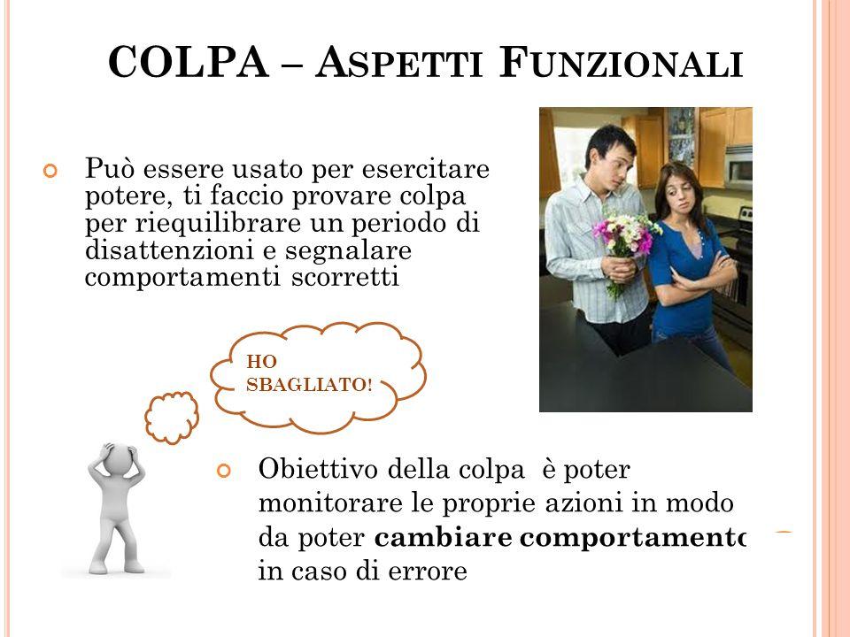 COLPA – Aspetti Funzionali