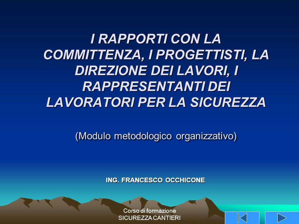 ING. FRANCESCO OCCHICONE