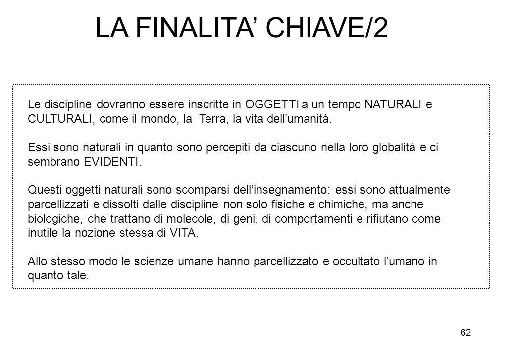 LA FINALITA' CHIAVE/2