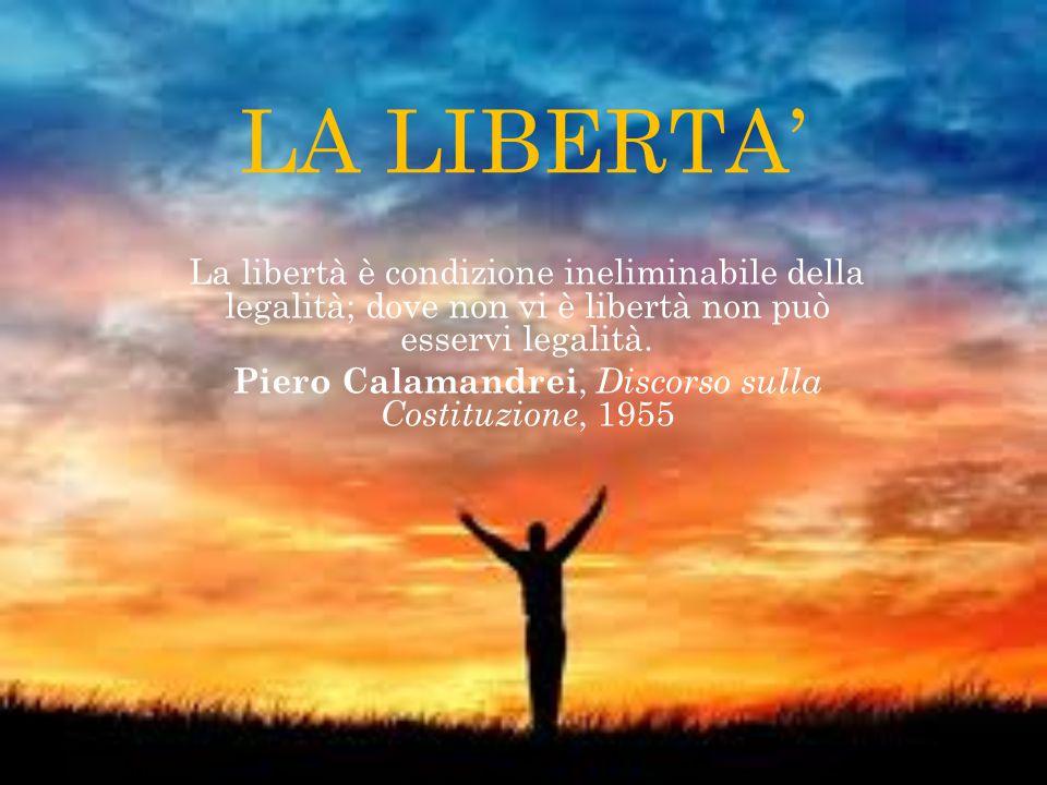 Piero Calamandrei, Discorso sulla Costituzione, 1955