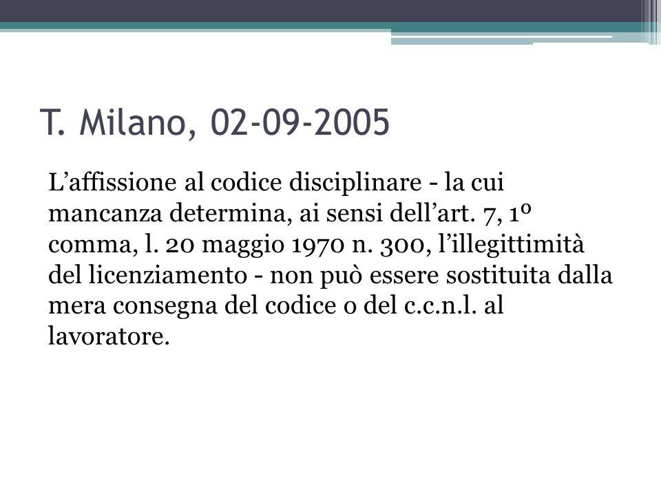 T. Milano, 02-09-2005