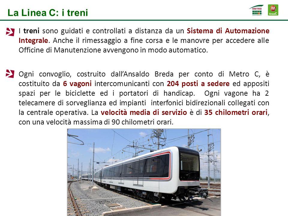 La Linea C: i treni