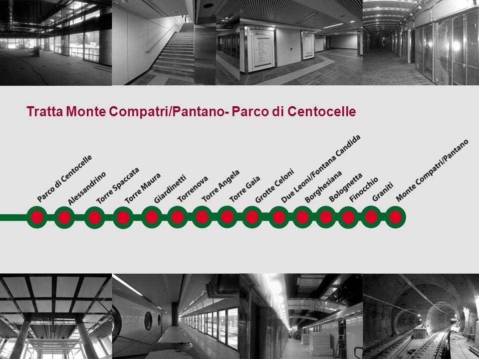 Tratta Monte Compatri/Pantano- Parco di Centocelle