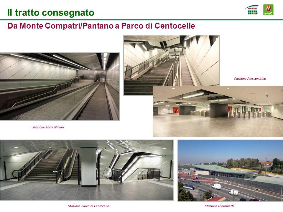 Stazione Alessandrino Stazione Parco di Centocelle