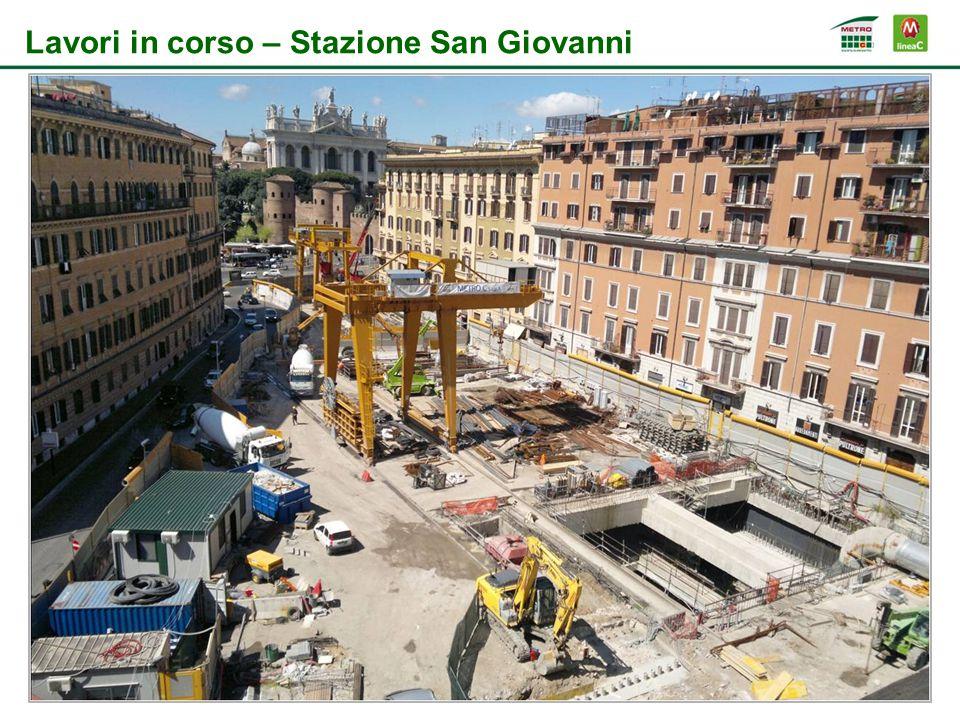 Lavori in corso – Stazione San Giovanni