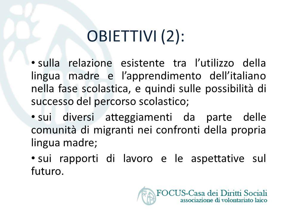 OBIETTIVI (2):