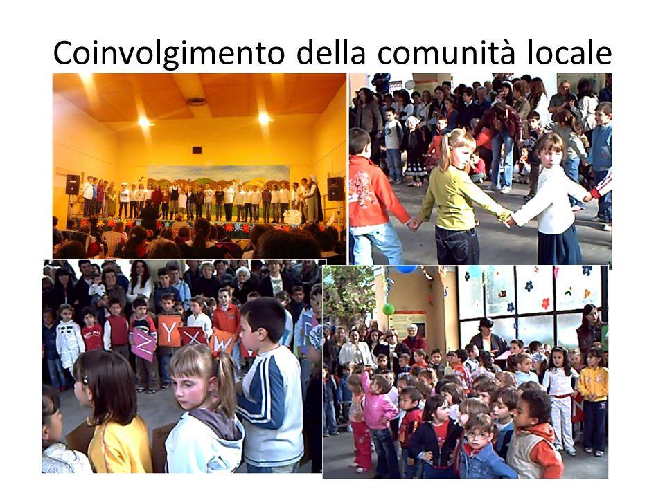 Coinvolgimento della comunità locale