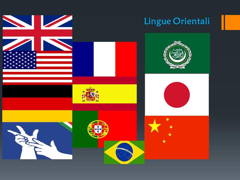 Lingue Orientali Lingue Occidentali