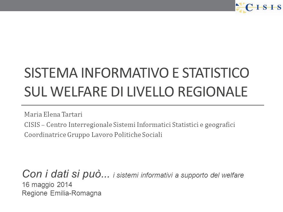 Sistema informativo e statistico sul welfare di livello regionale