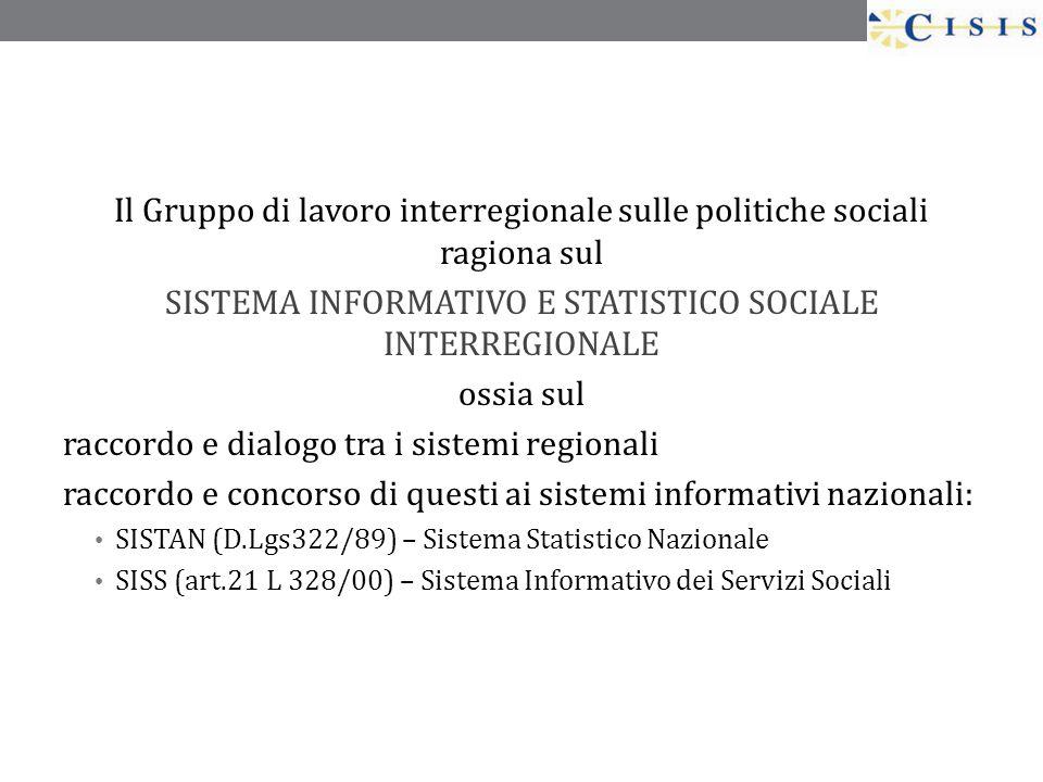 Il Gruppo di lavoro interregionale sulle politiche sociali ragiona sul