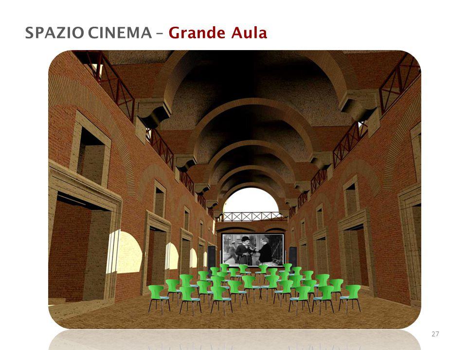 SPAZIO CINEMA – Grande Aula
