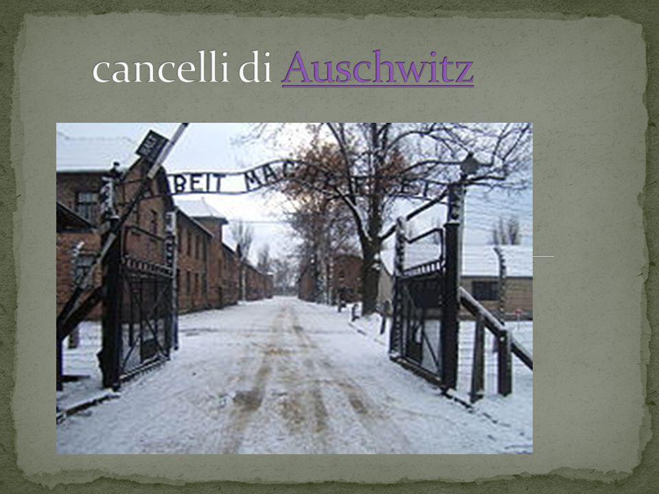 cancelli di Auschwitz